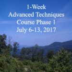 1-Week Advanced Techniques Course Phase 1
