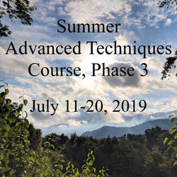 Advanced Techniques Course Phase 3