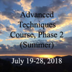 Advanced Techniques Course, Phase 2 (Summer)
