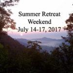 Summer Retreat Weekend